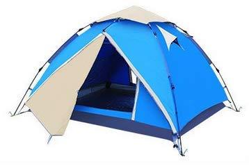 """Aretus  - """"Eagle Tent"""" großes Pop Up Wurfzelt 2 3 4 Personen Zelt - mit Vorzelt - Wasserdicht 2 Fach Belüftet - UV-Schutz - Für Camping Festival mit 2 in 1 Funktion - ruck zuck aufgebaut"""