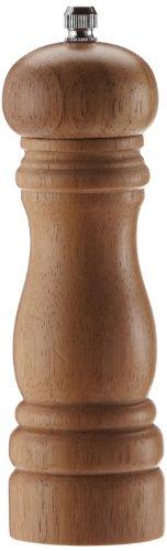 KESPER 13660 Pfeffermühle H: 16,5cm D: 5cm, helles Hartholz