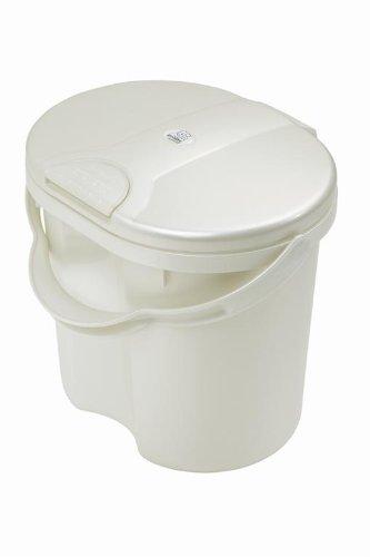 Rotho Babydesign 20002 0100 - Top Windeleimer, perlweiß crème