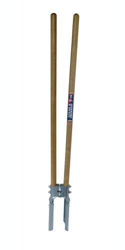 Spear & Jackson PHD-WH Erdlochausheber mit Holzgriff, beige