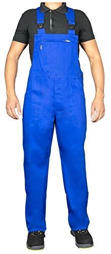Uvex Eco 126 Herren-Arbeitshose - Blaue Männer-Latzhose 62
