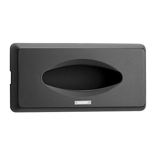 Katrin ahk090-bk inclusive Facial Tissue Spender, 130mm H x 270mm W x 70mm D, schwarz