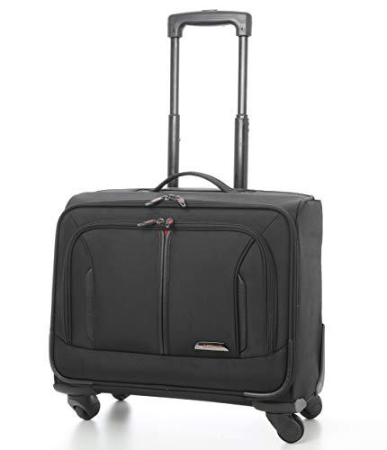 Aerolite 18' Laptop Roll-Koffer Laptop-Trolley Notebooktasche mit 4 Räder Tasche für Laptop 15', 17' und 18' Zoll
