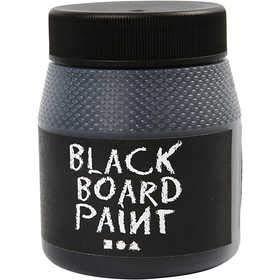 Tafelfarbe / Tafellack in 6 verschiedenen Farben zur Auswahl, Farbe:-13 schwarz