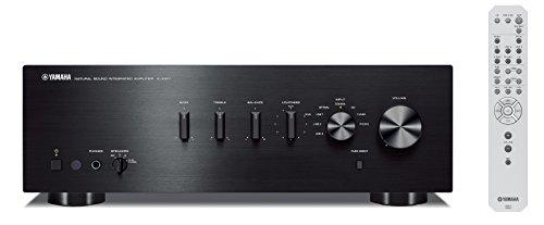 Yamaha A-S301 Stereo Vollverstärker mit D/A Wandler schwarz
