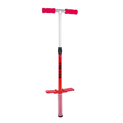 Pogo Stick Variabel trainiert spielerisch den Gleichgewichtssinn und die Fitness, bequem zu transportieren, für Kinder ab 5 Jahren