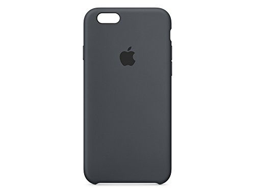 Apple  MKY02ZM/A Hülle (geeignet für iPhone 6 / 6S, Silikon)  anthrazit