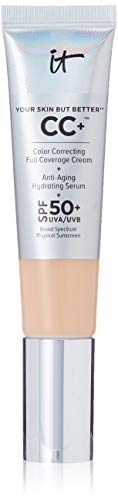 Your Skin But Better CC Cream with SPF 50+, Medium 1.08 fl oz by It Cosmetics by It Cosmetics