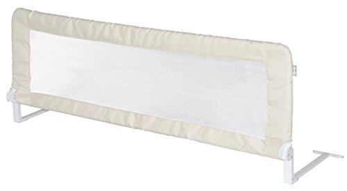 roba Bettschutzgitter 'Klipp-Klapp', extra großes klappbares Bettgitter für Babys & Kinder, Rausfallschutz 150 cm, beige
