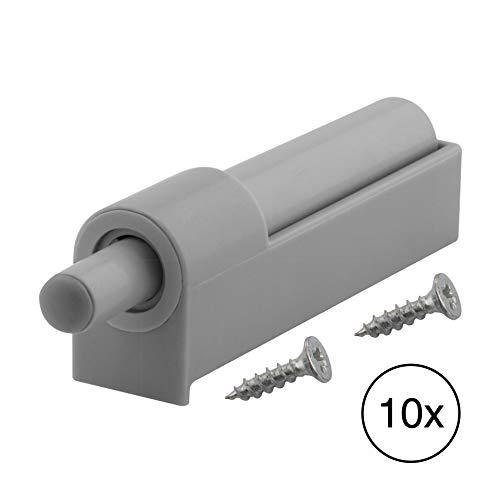 LouMaxx Softclose Türdämpfer 10er Set – Schubladendämpfer für Küchenschrank/Schrank zum Nachrüsten