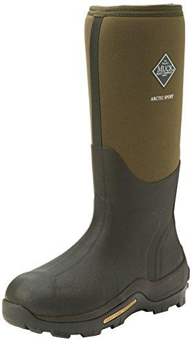 Muck Boots Arctic Sport Tall, Unisex Erwachsene Arbeits-Gummistiefel, Grün (Moss 333A), 42 EU (8 UK)