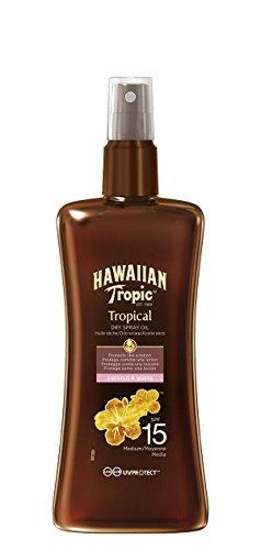 Hawaiian Tropic Protective Dry Spray Oil LSF 15, 200 ml