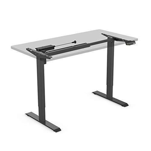 Flexispot E1 Höhenverstellbarer Schreibtisch Elektrisch höhenverstellbares Tischgestell 3-Fach-Teleskop, mit Memory-Steuerung