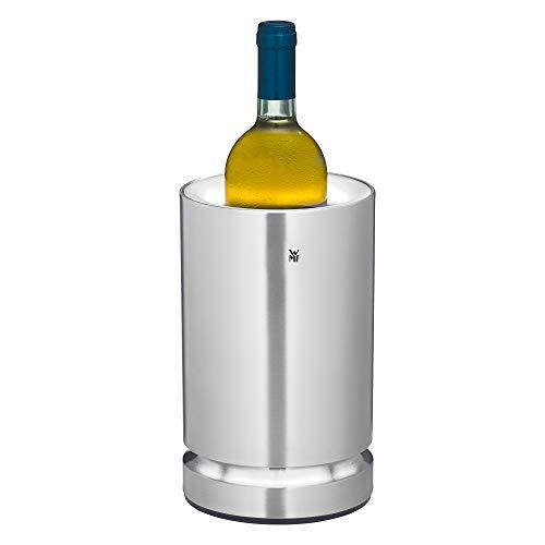 WMF Ambient Flaschenkühler (elektrisch, ideal als Sekt oder Weinkühler, Kühlmanschette, LED-Beleuchtung)