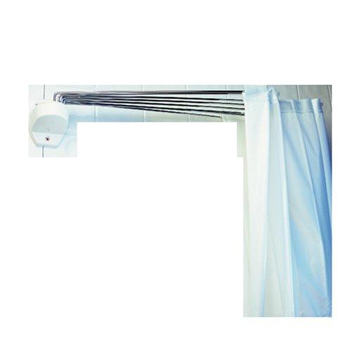 Spirella 1004441 Duschspinne OMBRELLA WHITE B x H: 200 cm x 170 cm