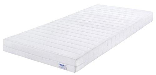 Traumnacht  Easy Comfort Rollmatratze Härtegrad 2 (H2), 03892692159, 90 x 200 cm, weiß