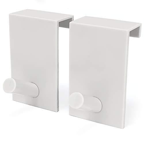 Flipchart-Papier Türhaken - platzsparende & mobile Alternative zum Flipchart Ständer (Weiß)