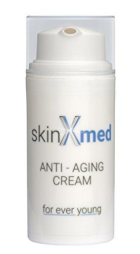 skinXmed Anti-Aging Creme – Anti-Falten-Creme für Gesicht, Hals und Dekollete (30ml)