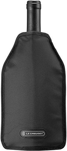 Le Creuset WA-129 Wein Accessoires Aktiv Weinkühler, schwarz