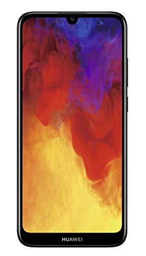 HUAWEI Y6 2019 Dual-SIM Smartphone 15,46 cm (6,09Zoll) (3020mAh Akku, 32 GB interner Speicher, Android 9.0) midnight black