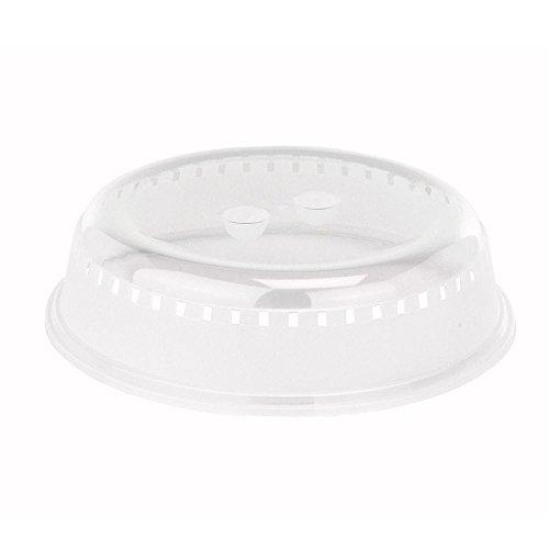 Viva Haushaltswaren - Mikrowellenabdeckhaube - Deckel, Tellerabdeckhaube für Mikrowelle 26 cm