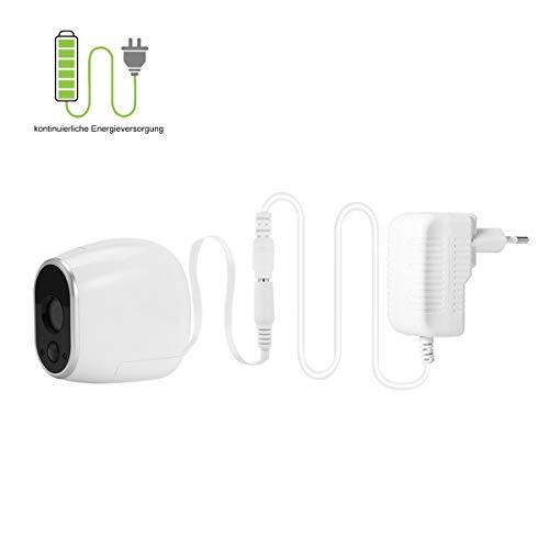 Netzteil Adapter kompatibel mit Netgear Arlo Überwachung Kamera,Smart Home Zubehör (Weiß)