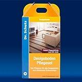 Dr. Schutz CC Pflege Designboden Pflegeset Bodenbeläge PU Reiniger + Vollpflege, Reinigungs-und Schutz-Set für PVC, Vinyl und Linoleum