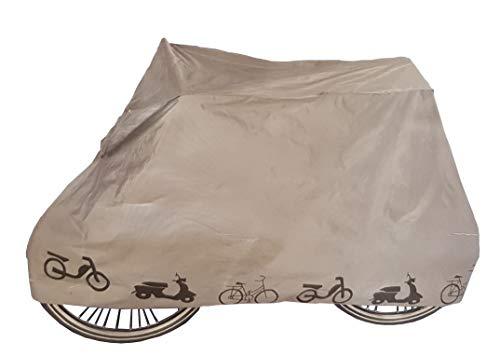Provance Fahrradschutzhülle, Wasserdicht Fahrradhülle Fahrradgarage Fahrrad Schutzhülle -Universal Fahrradschutz Fahrrad Abdeckung UV-Schutz Cover 210x 80x110cm Hülle für Fahrrad