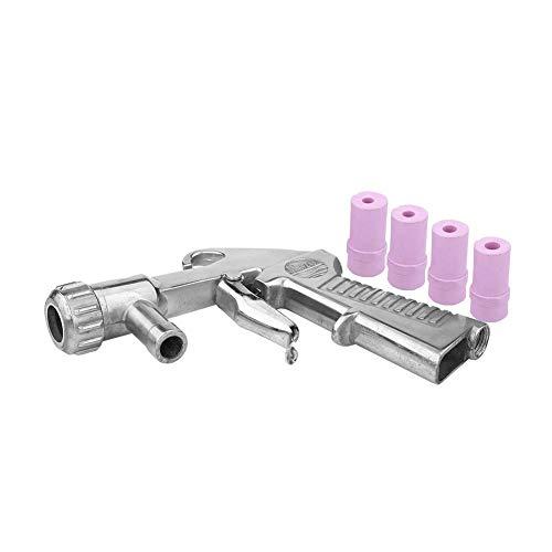 Air Sand Blaster Siphon Feed Strahlpistole Düse mit 4 Stück Keramikspitzen zum Sandstrahlen