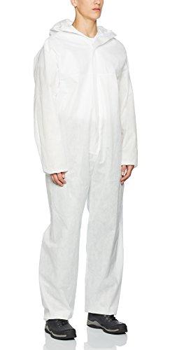 XXL Multi Schutzanzug gegen Chemie, Staub, Nuklearpartikel - antistatischer Schutz-Overall Kat III, Typ 5 und 6 XXL,weiß