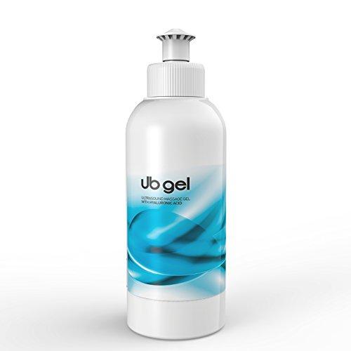 UB Gel HYALURON ULTRASCHALLGEL für ULTRASCHALLGERÄT Ultraschall Massage 250ml