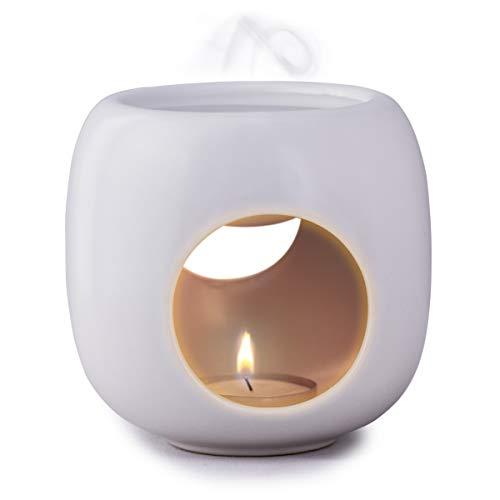 Kaloogo Sabai Scent Pure - Keramik Duftlampe/Duftlicht - weiß matt