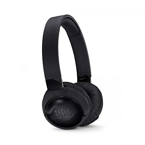 JBL Tune600BTNC in Schwarz, Noise-Cancelling On-Ear Bluetooth Kopfhörer mit integriertem Headset, Musikgenuss für 12 Stunden und mehr, Kabellos Musik streamen
