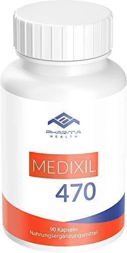 Medixil 470 | hochdosiert | F-BRN | für Männer und Frauen | 90 Kapseln