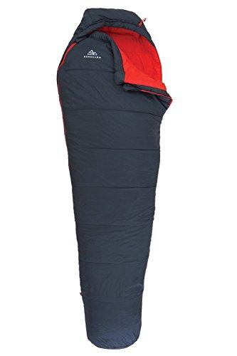 NORDKAMM - Schlafsack 3 Jahreszeiten (Zipper Rechts)