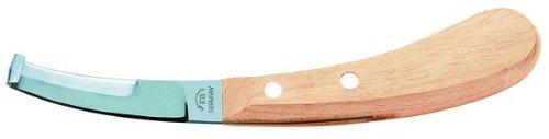 Hufmesser, beidseitig schneidend, breit