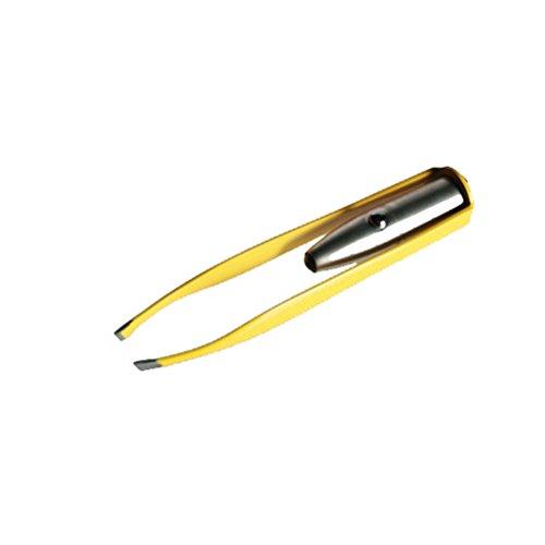 Pinzette für Augenbrauen mit LED-Licht - ideal für Kosmetiker, professionellen Gebrauch