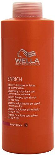 Wella Professionals Enrich unisex, Volumen Shampoo für feines bis normales Haar 1000 ml, 1er Pack (1 x 1 Stück)