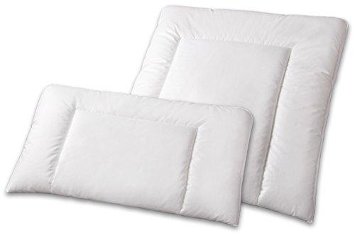 Kopfkissen Bauchschläferkissen Baumwolle waschbar 60° Bea, Größe:40 x 80