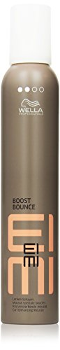 Wella EIMI Boost Bounce Locken-Mousse, 1er Pack (1 x 300 ml)