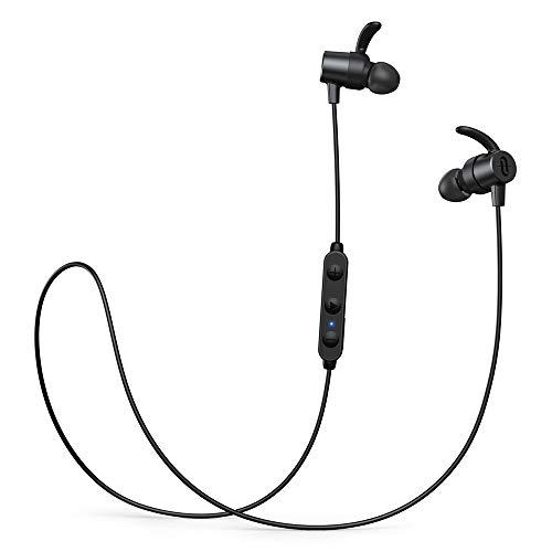 TaoTronics Wireless Bluetooth Kopfhörer 5.0 aptX HD Audio CVC 8.0 Noise Cancelling IPX6 Wassergeschützt 13 Stunden Wiedergabezeit 3 EQ Einstellungen