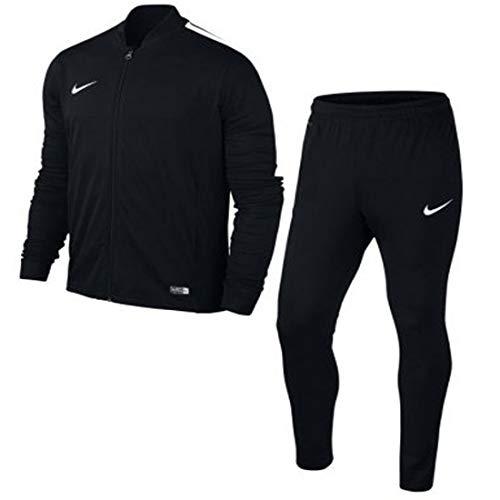 Nike Herren Trainingsanzug Schwarz schwarz, weiß Gr. L, schwarz, weiß