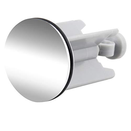 EUGAD Universal Waschbeckenstöpsel Waschbeckenstopfen 40 mm Abflussstopfen für alle handelsüblichen Waschbecken und Bidets