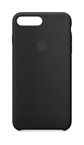 Apple Silikon Case (iPhone8Plus / iPhone 7Plus) - Schwarz