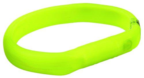 Trixie Flash Leuchtband USB L - XL (70 cm/17 mm) grün