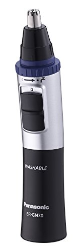 Panasonic Nasen-/ Ohrhaarschneider ER-GN-30K mit Batteriebetrieb