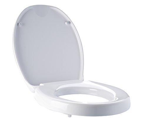 RIDDER Assistent  A0070700 WC-Erhöhung, Toilettensitzerhöhung, Premium mit Soft-Close