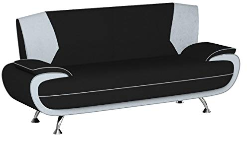 Mirjan24 Dreisitzer Sofa Palermo 3, Relaxsofa vom Hersteller, Polstermöbel, Modern Couch, Sofagarnitur, Große Farb- und Materialauswahl, Couchgarnitur (Mono 248 + Mono 243)