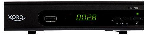 Xoro HRK 7660 HD Receiver für digitales Kabelfernsehen (HDMI, SCART, USB 2.0, LAN, PVR Ready, Mediaplayer) schwarz
