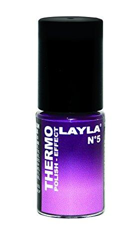 Layla Cosmetics Thermo Polish Effect Nagellack, 1er Pack